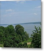 Washington's View From Mt. Vernon Metal Print
