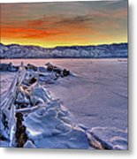 Washoe Ice Metal Print