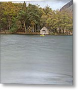 Wast Water Boat House Metal Print