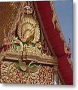 Wat Luang Pu Supa Ubosot Gable Dthp330 Metal Print