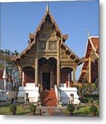 Wat Phra Singh Phra Ubosot Dthcm0246 Metal Print