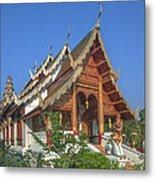 Wat Phuak Hong Phra Wihan Dthcm0582 Metal Print