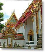 Wat Po In Bangkok-thailand Metal Print