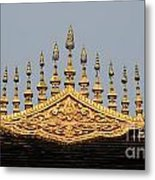 Wat Roof Detail Metal Print