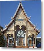Wat Sri Don Chai Phra Wiharn Dthcm0084 Metal Print