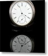 Watch And Reflection Metal Print