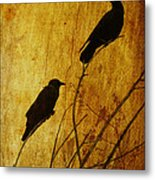 Watchers Of The East And West Metal Print