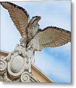 Watchful Eagle Metal Print