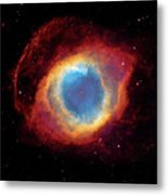 Watching - Helix Nebula Metal Print by Jennifer Rondinelli Reilly - Fine Art Photography