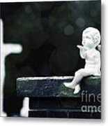 Watching Over Them Metal Print by Trish Mistric