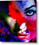 Watching You Through Color Metal Print