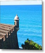 Watchtower Of San Juan Metal Print