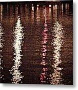 Water And Light Metal Print