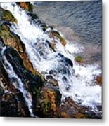 Water And Stone Metal Print