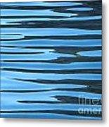 Water At Calanques De Cassis Metal Print