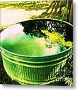 Water Barrel Metal Print