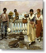 Water Carriers. Venice Metal Print