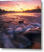 Water Claw Metal Print