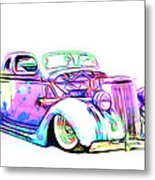 Water Colors 36 Ford Metal Print