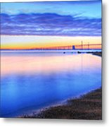 Water Colors Metal Print by JC Findley