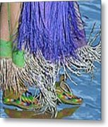 Water Dancing Metal Print