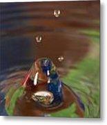 Water Drop Abstract 6 Metal Print