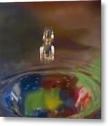 Water Drop Abstract 7 Metal Print
