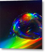 Water Drop Metal Print by Naushad  Waheed