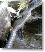 Water Fall In Hocking Hills Metal Print