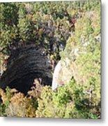 Water Fall In Petit Jean National Park Metal Print