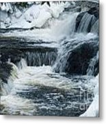 Water Fall On The River Metal Print