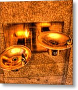 Water Fountains Metal Print
