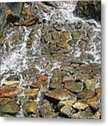 Water From A Stone Metal Print