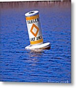 Water Hazard Metal Print