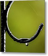 Water Ice Iron Metal Print