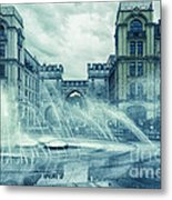 Water In The City Metal Print