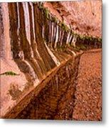 Water Is Life - Coyote Gulch - Utah Metal Print