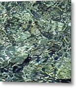 Water Jewel Metal Print