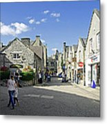 Water Lane - Bakewell Metal Print