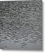 Water Lines Metal Print