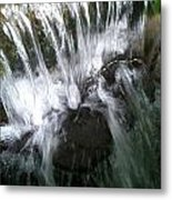 Water Noise And Light Metal Print
