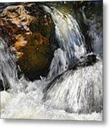 Water On The Rocks 2 Metal Print