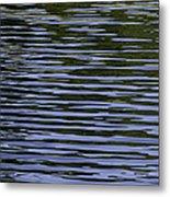 Water Pattern Metal Print