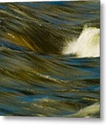 Water Play Metal Print by Bill Gallagher