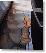 Water Reflections Abstract Metal Print