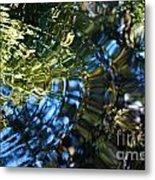 Water Reflections 4 Metal Print