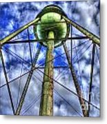 Mary Leila Cotton Mill Water Tower Art  Metal Print