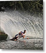 Water Skiing 12 Metal Print