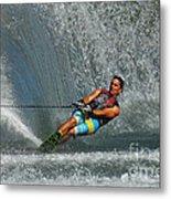 Water Skiing Magic Of Water 14 Metal Print