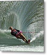 Water Skiing Magic Of Water 27 Metal Print